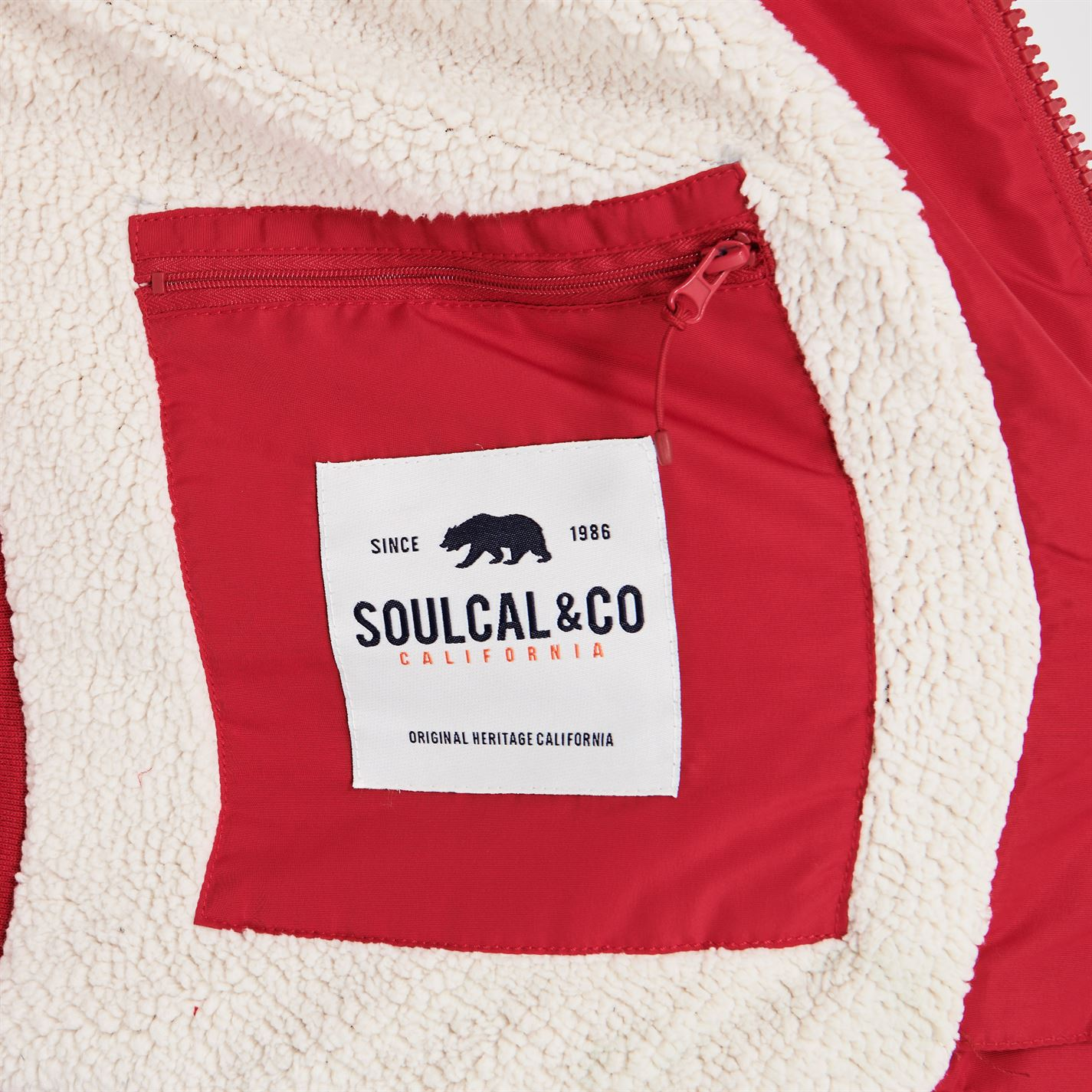 SoulCal 2 Zip Gilet Mens ELITOO