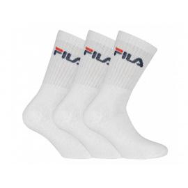 3PACK ponožky Fila bílé (F9505-300)