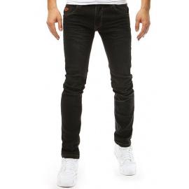 Spodnie męskie jeansowe czarne UX2670