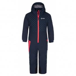 Girls' ski suit Saarin-jg dark blue - Kilpi
