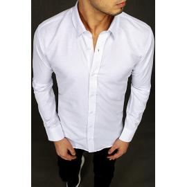 Biała elegancka koszula męska DX2038